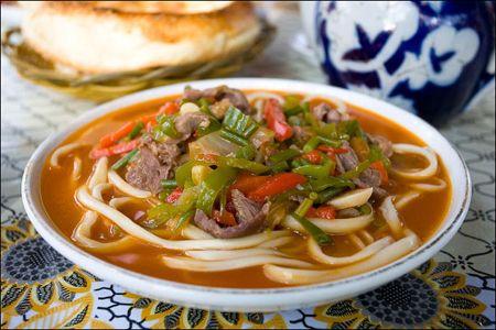 Лагман – узбекское блюдо