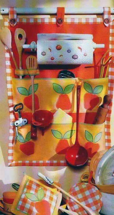 Кармашки - органайзер для кухни