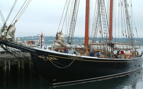 Bluenose Ship. Lunenburg / Nova Scotia / Canada
