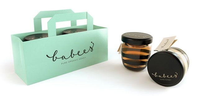 Packaging of the World: Creative Package Design Archive and Gallery: Babees Honey                                                 youtube converter