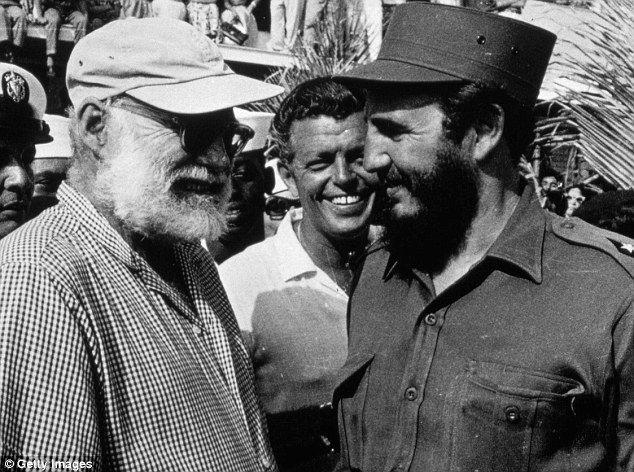 Ernest Hemingway Wearing Glasses