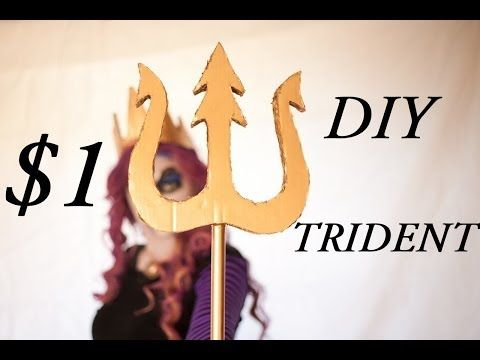 How To Make A Trident! ONLY $1 - YouTube