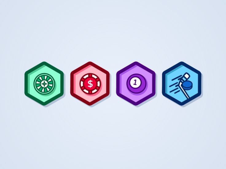 Small set of icons