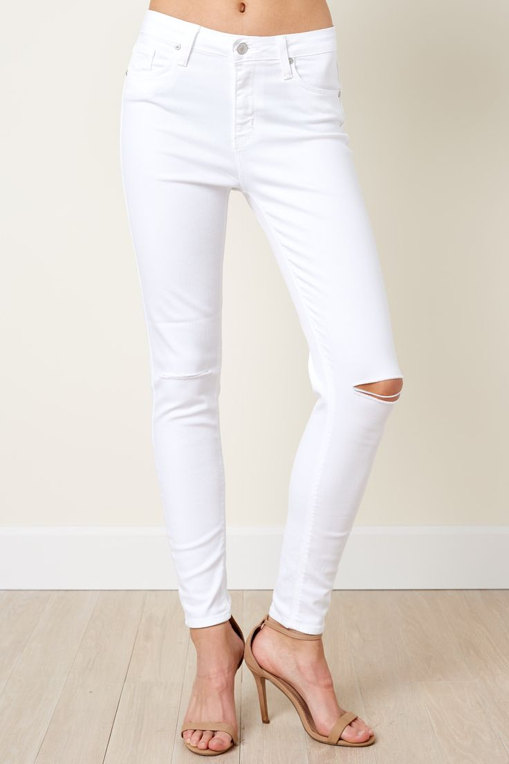 1000  ideas about White Skinny Jeans on Pinterest | White jeans ...