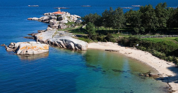 A Illa de Arousa, Pontevedra.