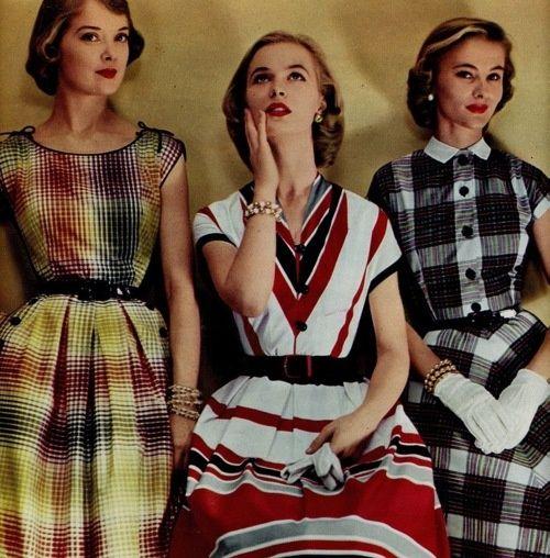Three 50s summer dresses