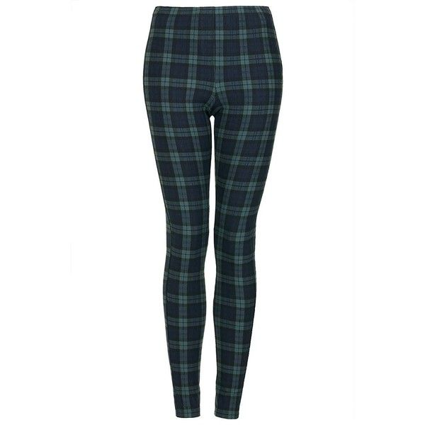 Black Watch Green Tartan Leggings: ❤ liked on Polyvore featuring pants, leggings, plaid trousers, plaid pants, tartan leggings, green plaid pants and green plaid leggings