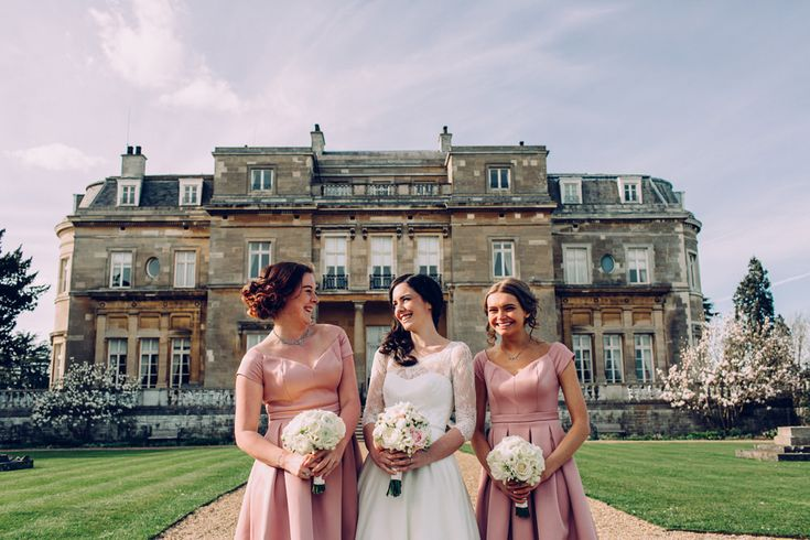 Timeless Ivory Gold Wedding With Scottish Traditions In: Best 25+ Dusky Pink Bridesmaids Ideas On Pinterest