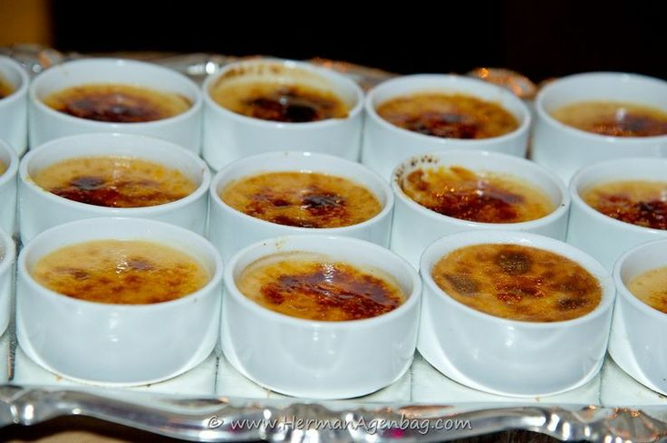 The best South African dessert ever! Rooibos tea Crème brulee!