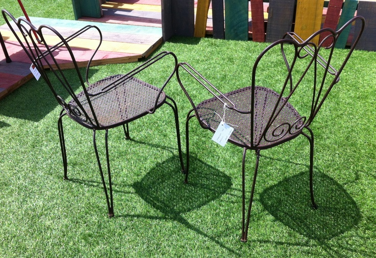 40 best images about chaises tabourets on pinterest furniture odense and - Mobilier jardin vintage ...