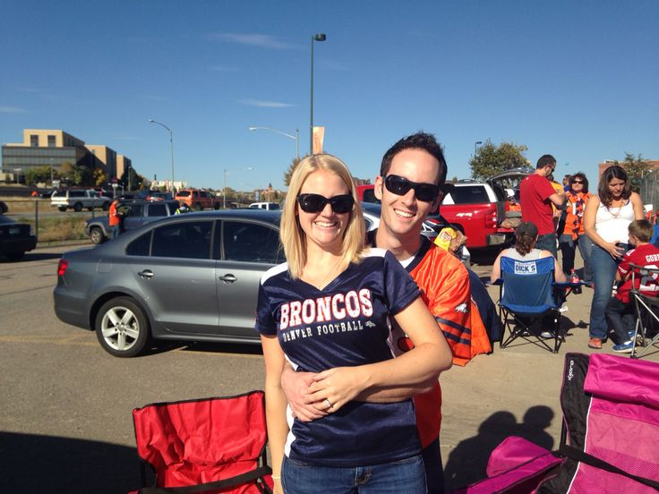10.19.14 C&B surprised Mike with tickets to his very first NFL game which also happened to be his favorite team: 49ers vs. Broncos! @corriegroesbeck @bobgroesbeck