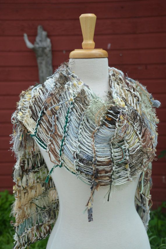 Dumpster Diva 'Light Herbgrass' Fringed by RockPaperScissorsEtc, $65.00