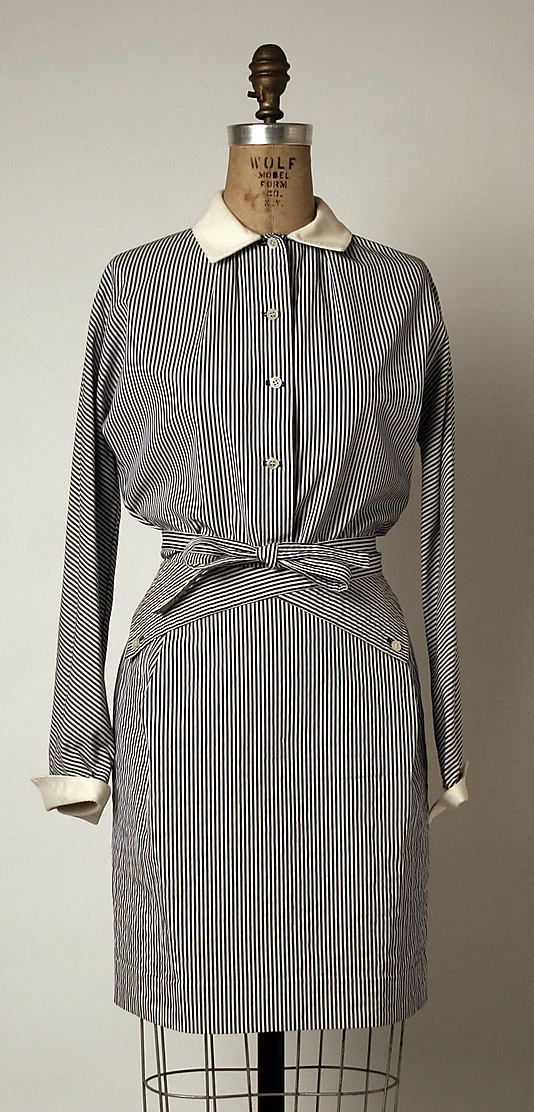 Ensemble - Geoffrey Beene - 1980 - Love this as well and would wear it today as well.