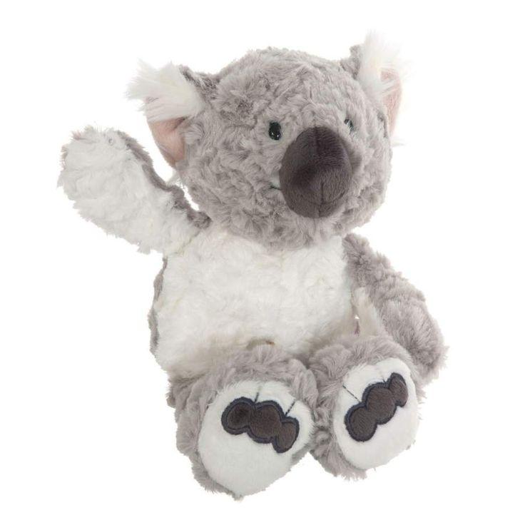 Nici peluches online. Peluche koala Kaola de Nici. Colección Wild Friends. Suave al tacto y original diseño. Calidad en los materiales. Medidas 35x23x16 cms.