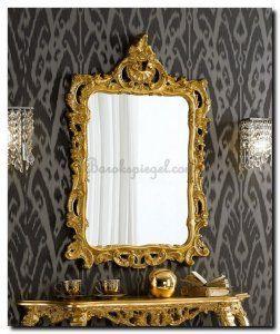 Bella is een echte Venetiaanse spiegel. Zal prachtig staan in een moderne badkamer, wie durft? Ook prachtig op de schouw of in de hal.  http://www.barokspiegel.com/detail/4451183-7-0025-l-spiegel-bella