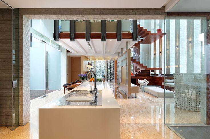Modern Tropical House - Kitchen | Wahana Architects