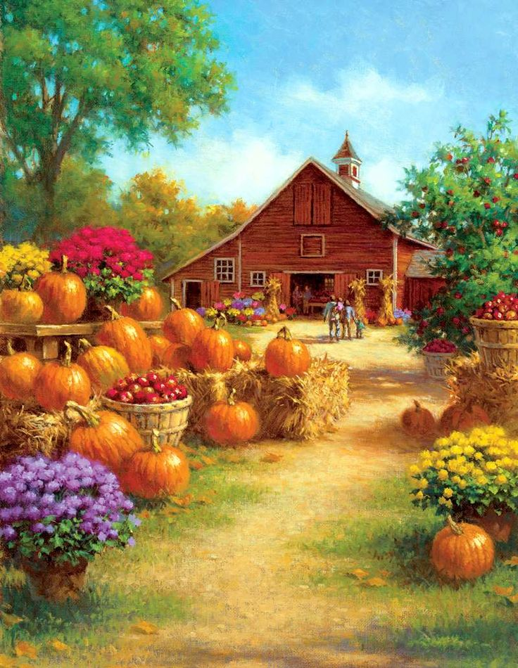 Ray Mertes. Pumpkin barn