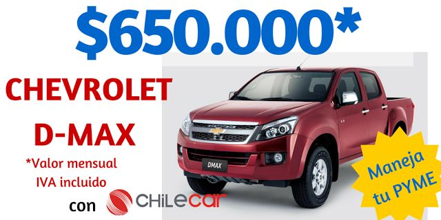 Chile Car, rent a car: Arriendo de camionetas baratas