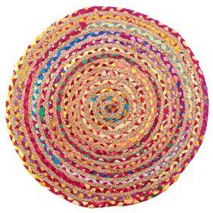 Χαλάκι Κουρελού Χρωματιστή 60 εκ. < Χαλάκια Κουρελού | Jumbo
