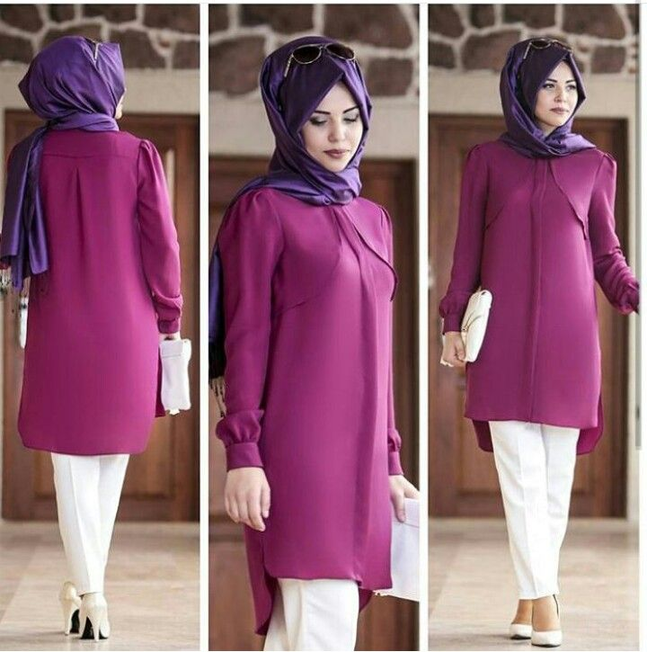 Annahar Tunic Fuchsia 85 TL or 30 Dolars You can order and informations whatsapp05533302701 @modaufku