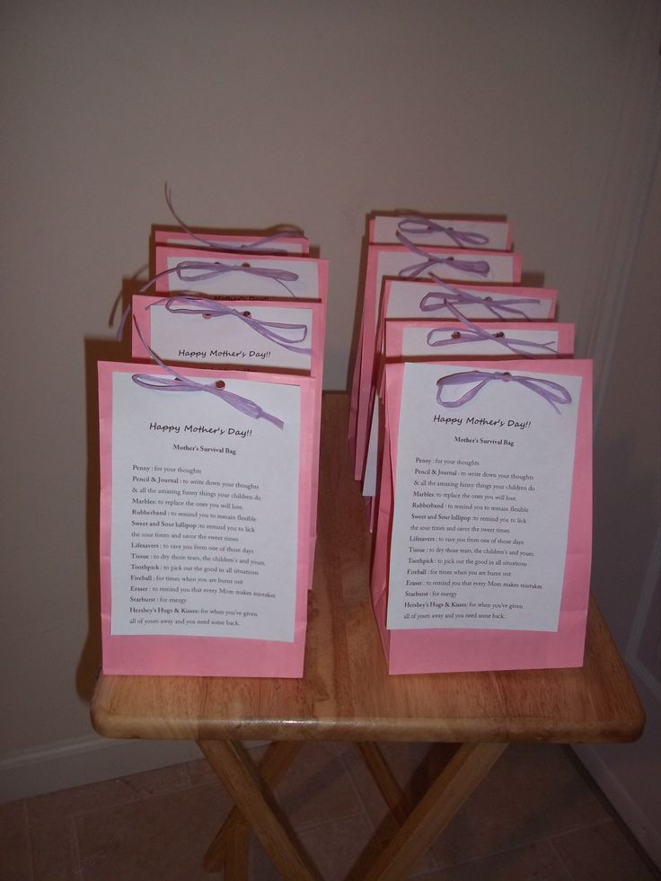 Mother s day gift bags for sisters coworkers friends etc