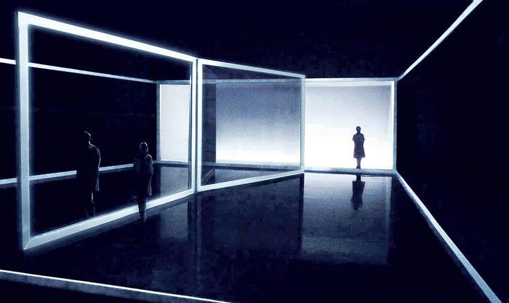 "Stage design for Sarah Nemtsov's ""L'Absence"" by Etienne Pluss"