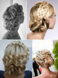 Braids in hair style for wedding day - This page lists many Irish traditions