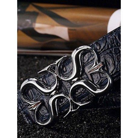 Cinto de couro elegante para homens , Saiba mais em : www.am-shopping.com  Por apenas  41.86 CHF ou 39.15 €  ( -30% Desconto ) Envio Grátis para todo o Mundo