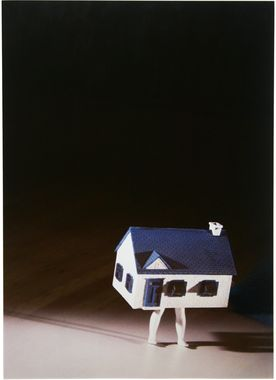 Walking House (Little), Laurie Simmons, 1994, photograph