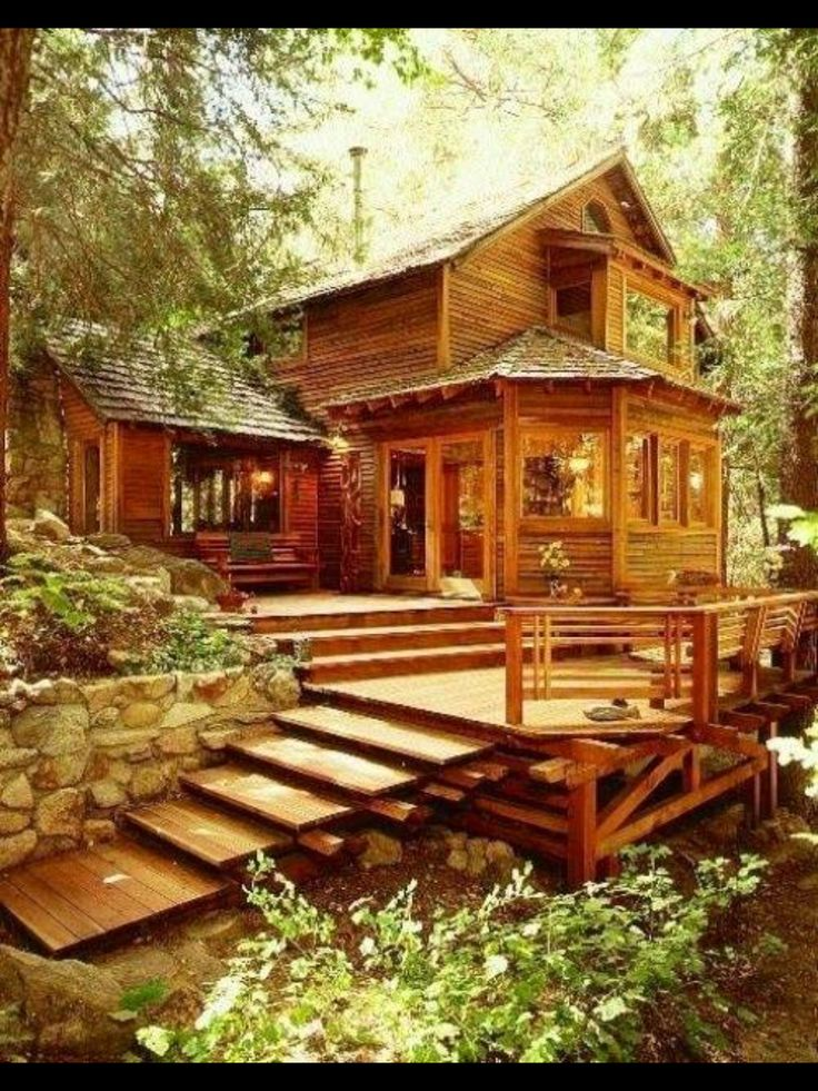 Beautiful home dream homes and furniture pinterest for Dream cabins