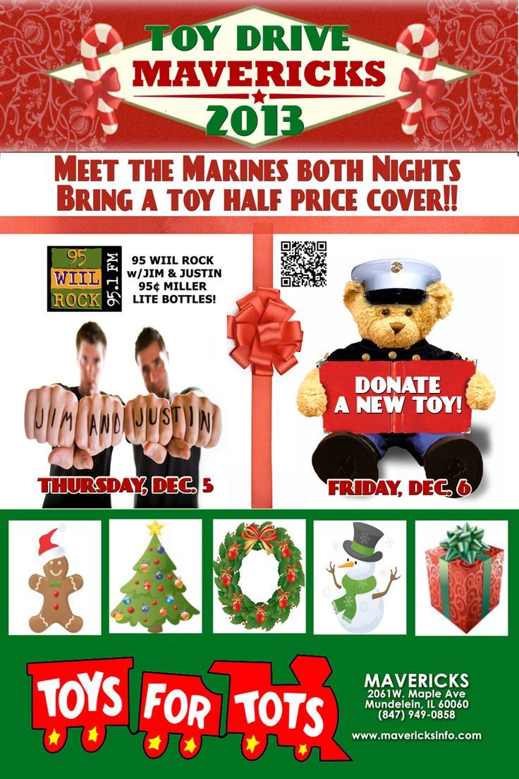 Toys For Tots Promotional Posters : Toys for tots flyer design mavericks nightclub in