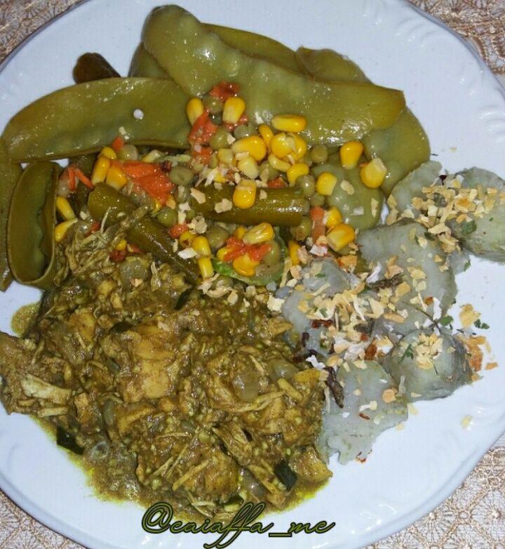 Equilibrio Entre Verduras Legumes Especiarias Batata Doce