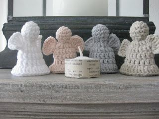 Crochet Angels - Tutorial ❥ 4U // hf