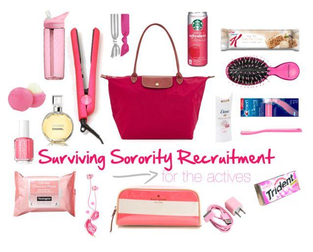 Prep Essentials: Sorority Recruitment Survival Guide - For Actives! See the original blog post here! prepessentials.blogspot.com