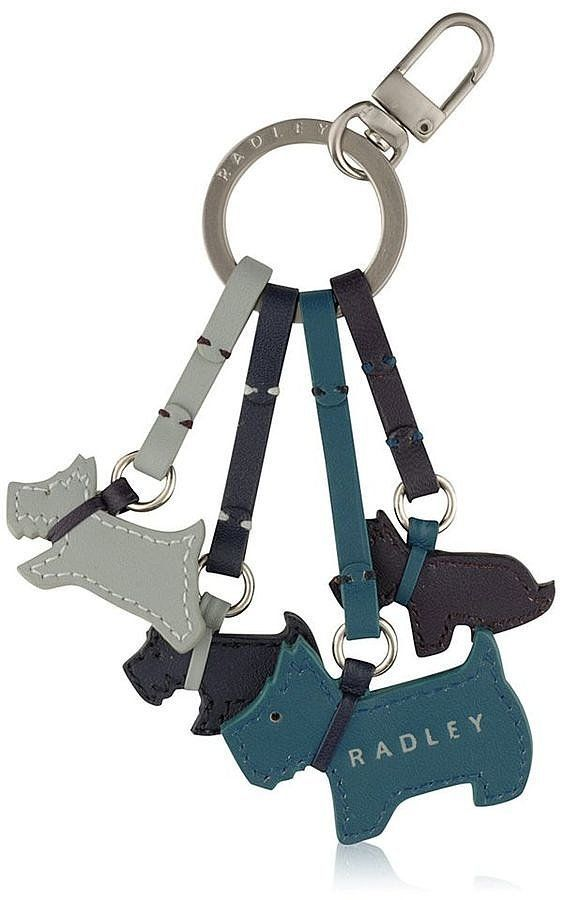 Make custom key chains of pets Radley Darlington Blue Keyring