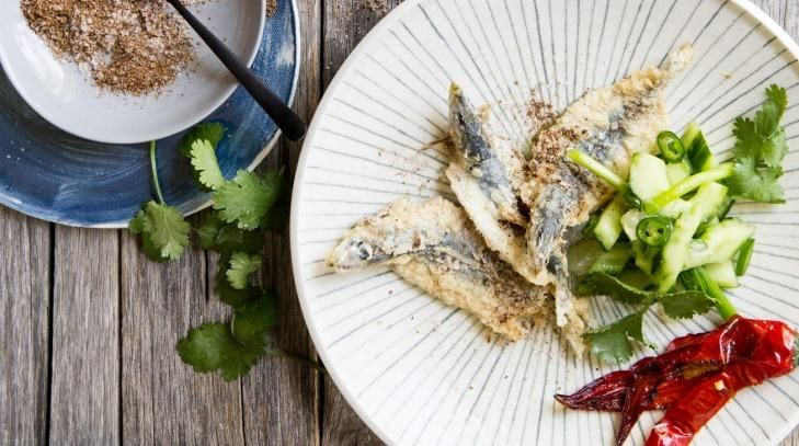 Karen Martini's recipe is great with Asian flavours.
