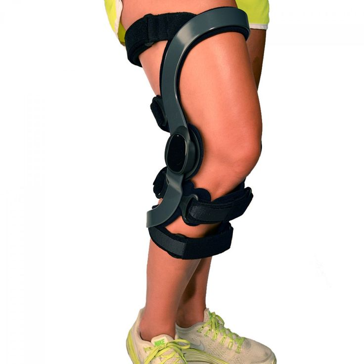 BraceAbility Functional ACL Tear Knee Brace--This ACL knee brace is constructed of aerospace-grade aluminum that is strong, customizable and lightweight. This makes the low-profile support well suited for torn ACL treatment (or other ligament injuries) and as an ACL sports brace for support as one gets back to athletic activity. Also can be used for MCL, LCL, PCL, and CI therapy. Visit www.BraceAbility.com today to see our other awesome knee braces! :)