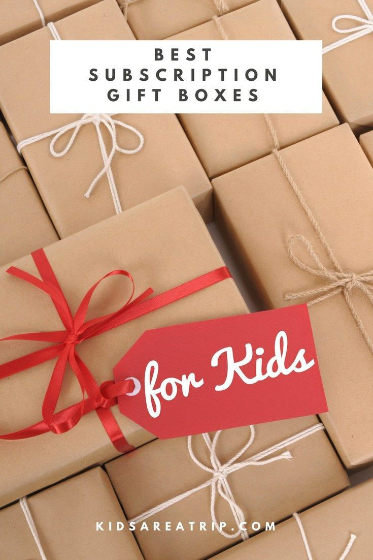 No matter the time of year, these are the gifts that keep on giving. Here are some of our choices for the best subscription gift boxes for kids. - Kids Are A Trip