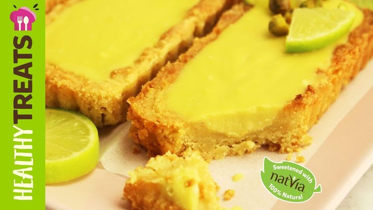 Lime Slice - #Natvia #SugarFree Healthy Treats
