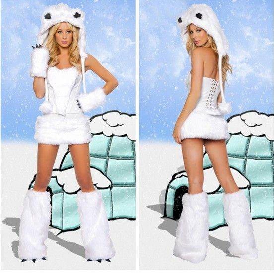Free Shipping leather fur women sexy Polar Bear costume halloween costumes women sexy cosplay AC005 - http://www.aliexpress.com/item/Free-Shipping-leather-fur-women-sexy-Polar-Bear-costume-halloween-costumes-women-sexy-cosplay-AC005/1044282098.html