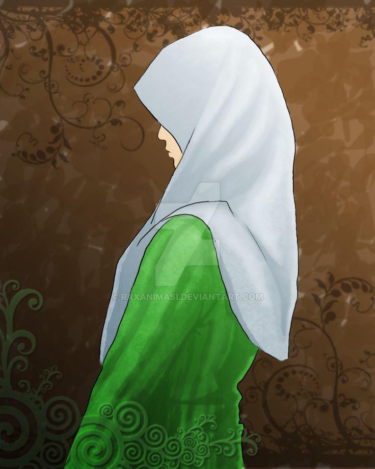 Umee in her hijab by raxanimasi.deviantart.com on @DeviantArt