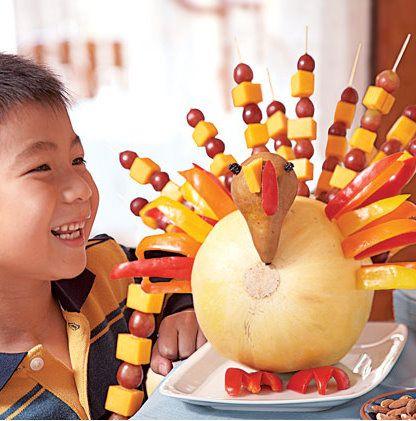 Turkey Fruit KabobsHoliday, Ideas, Thanksgiving Turkey, Thanksgiving Food, Fruit Kabobs, Thanksgiving Appetizers, Kids, Thanksgiving Snacks, Fruit Turkey