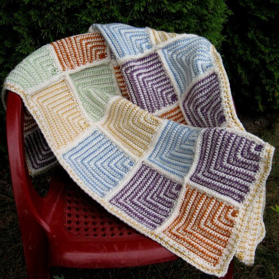 Free Knitting Pattern Mitered Afghan : 17 Best images about Mitred Squares on Pinterest Ravelry ...