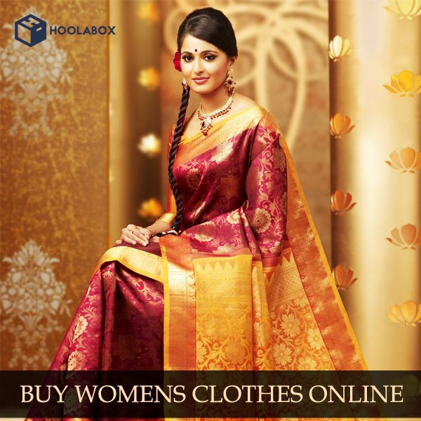Buy Women's Sarees Online at Hoolabox, India. Best online shopping store for women sarees, clothes, apparel & accessories. Buy silk, cotton, bridal, wedding and party wear designer sarees online at best prices.  Please Visit:- http://hoolabox.com/92-saree
