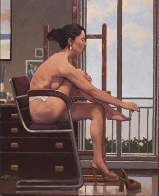 For My Lover II. Jack Vettriano