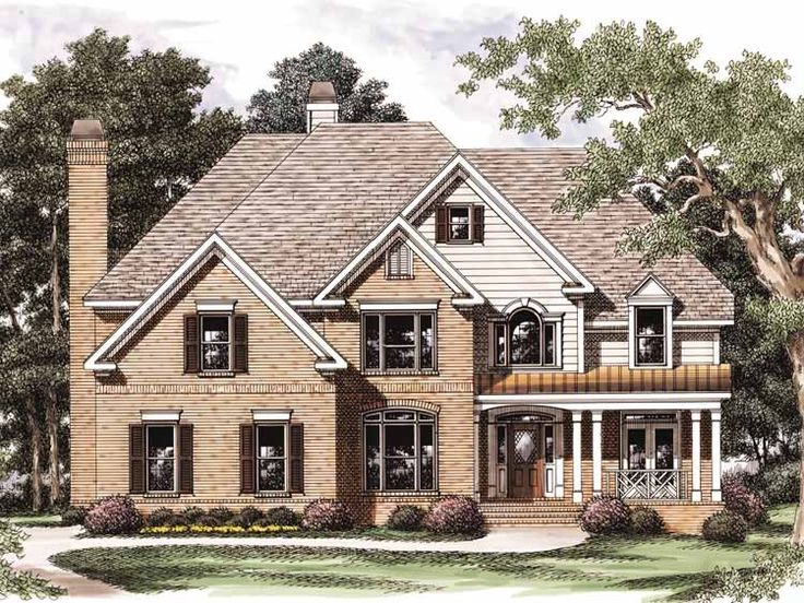 Eplans new american house plan neoclassical masterpiece for Www eplans com house plans