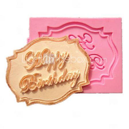 gelukkige+verjaardag+cupcake+kaart+fondant+taart+mallen+decoratie+chocolade+mal+voor+de+keuken+bakken+voor+kandijsuiker #birthday #party #cake #myhomeshopping