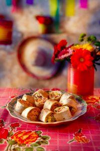 Wrap met kip en korianderroom - Boodschappen