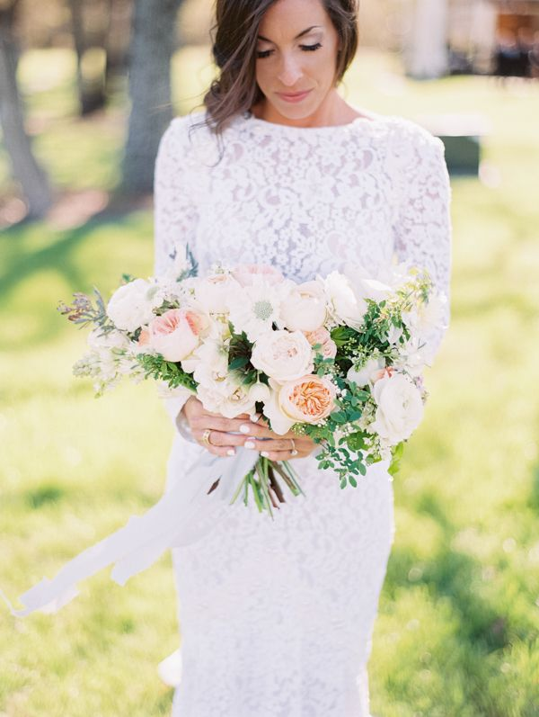 Peach bouquet | Becca Lea