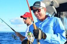 Brett Lee Ocean Blue Fishing experience